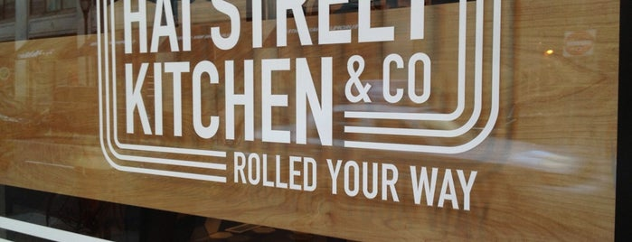 Hai Street Kitchen & Co. is one of Posti che sono piaciuti a Daphne.