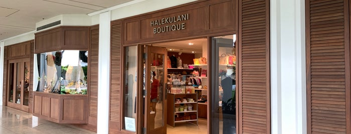 Halekulani Boutique is one of hawai best.