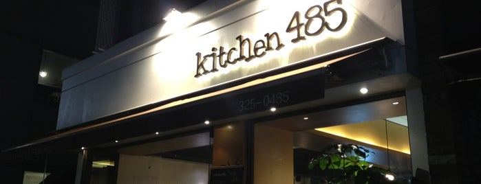 Kitchen 485 is one of 이태원, 녹사평.