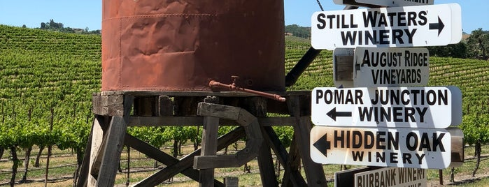 Pomar Junction Vineyard & Winery is one of California.