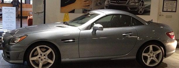 Mercedes-Benz of Coral Gables is one of Locais curtidos por Felix.