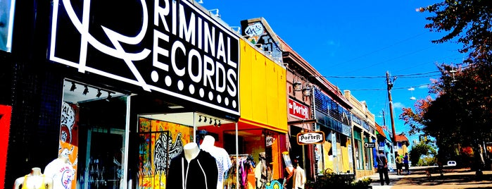 Criminal Records is one of Best of Atlanta.