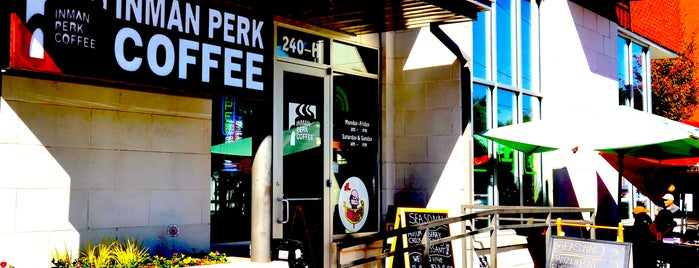 Inman Perk Coffee is one of To Do Restaurants.