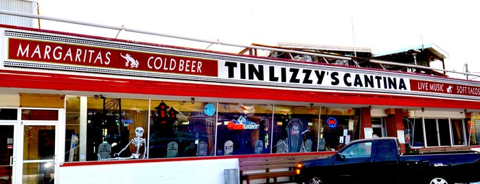 Tin Lizzy's Cantina is one of Locais curtidos por Leslie.