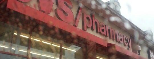 CVS pharmacy is one of Lieux qui ont plu à Dawn.
