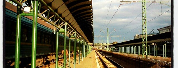 Залізнична станція «Чоп» / Chop railway station is one of Agatha 님이 좋아한 장소.