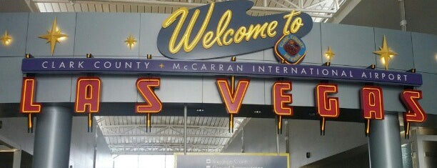 McCarran International Airport (LAS) is one of Official airport venues.