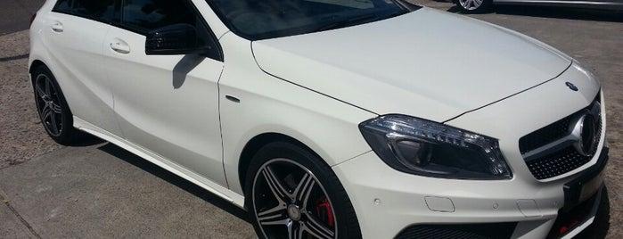 Mercedes Benz is one of Posti che sono piaciuti a Kim.
