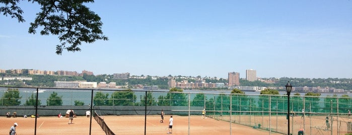 Clay Tennis Courts is one of Wallpaper Guide - NYC.