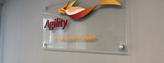 Agility Logistics is one of Locais curtidos por Aristides.