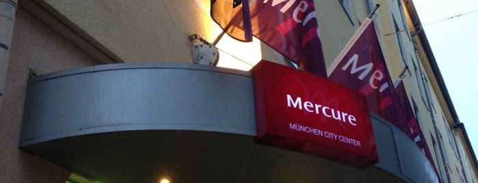 Mercure Hotel München City Center is one of Friedrichさんのお気に入りスポット.