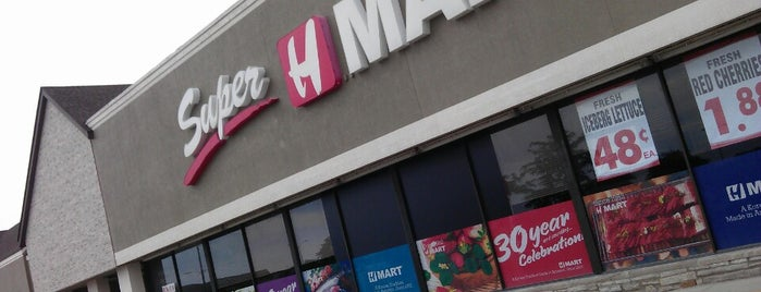 Super H Mart is one of Rockin the suburbs.