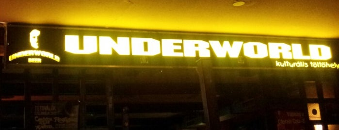 Underworld Pub is one of Gespeicherte Orte von Bence.