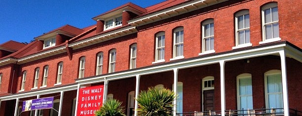 The Walt Disney Family Museum is one of San Fran-The City places to see.