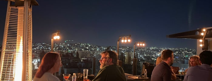 District rooftop is one of Amman.