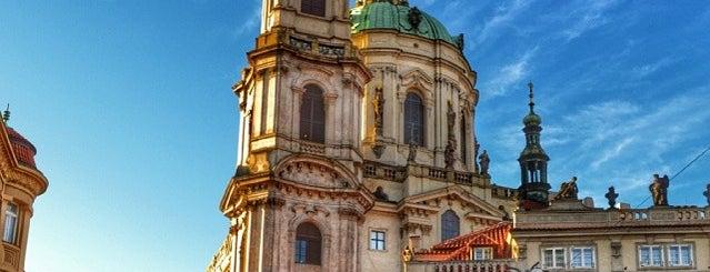 St.-Nikolaus-Kirche is one of Pražské památky.