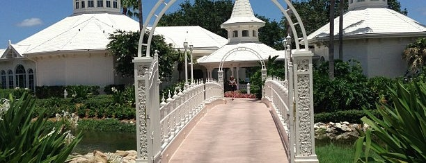 Disney's Wedding Pavilion is one of Disney World Vacation.