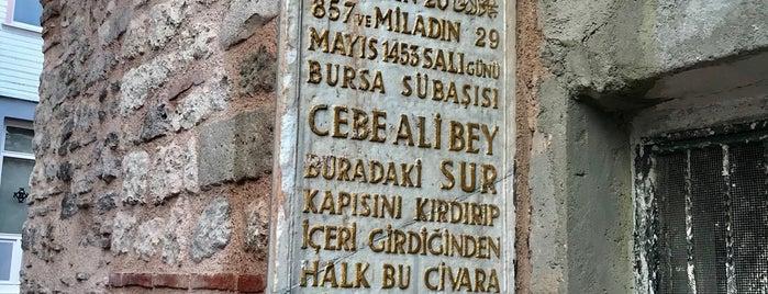 Cibali Kapısı is one of istanbul-avrupa.