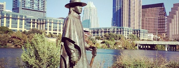 Stevie Ray Vaughan Statue is one of Austin Explorations.