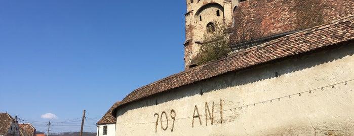 Biserica Fortificata Valea Viilor is one of UNESCO World Heritage Sites in Eastern Europe.
