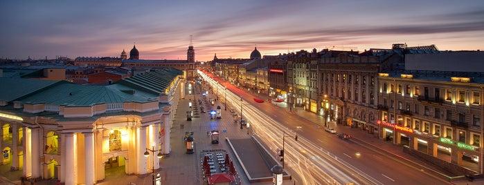 Nevsky Prospect is one of Чудеса мира... Фотографии со всего света!!!.