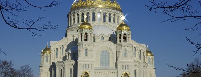 Kronstadt Naval Cathedral is one of Lieux sauvegardés par Anna.