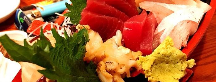 魚がし 一番町店 is one of Lugares favoritos de Shigeo.