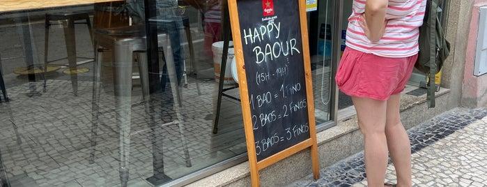 Bao's Taiwanese Burger is one of Porto.