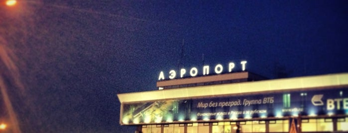 Pulkovo International Airport (LED) is one of Lugares favoritos de Yana.