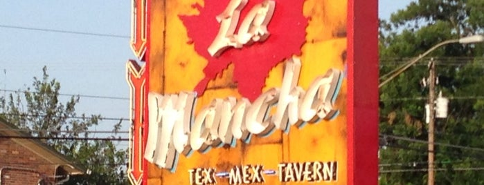La Mancha Tex Mex Tavern is one of Austin Food.