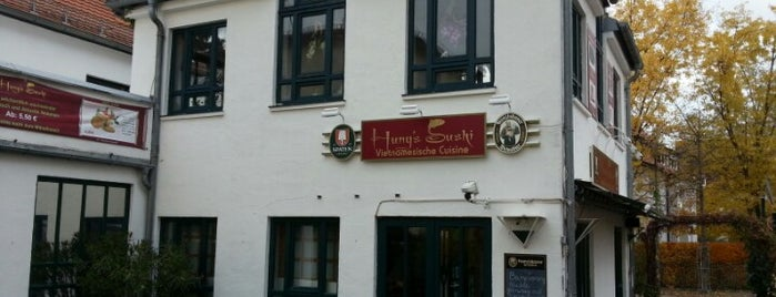Hungs Sushi is one of Essen gehen.