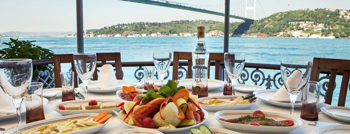 Rumelihisarı İskele Restaurant is one of arzulist.