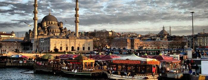 Eminönü is one of İstanbul'da En Çok Check-in Yapılan Mekanlar.