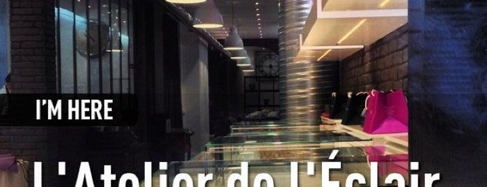 L'Atelier de l'Éclair is one of Paris - best spots! - Peter's Fav's.