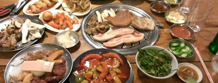 Mr.Gung | Korean BBQ Buffet is one of Anna Brain 님이 저장한 장소.