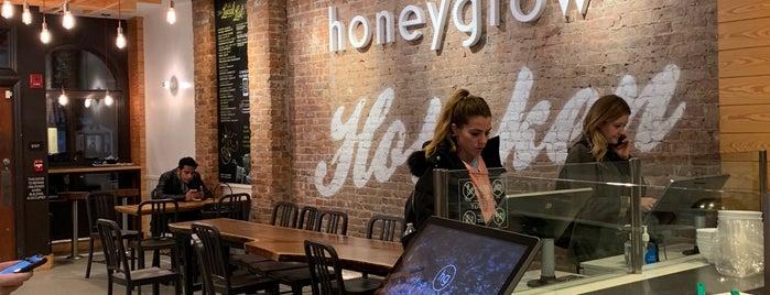 honeygrow is one of Hoboken.