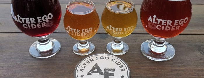 Alter Ego Cidery is one of Portland A-F.
