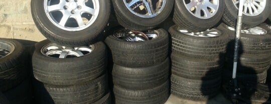 Milo's Tire Shop is one of NY.