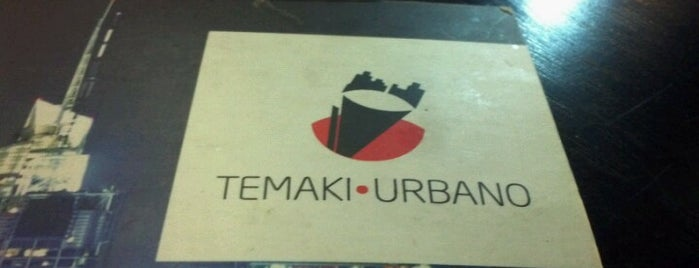 Temaki Urbano Restaurante is one of Comer bem.