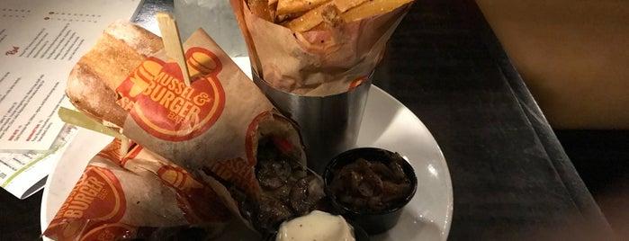 Mussel & Burger Bar is one of Chris : понравившиеся места.