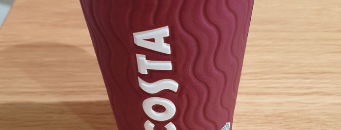 Costa Coffee is one of Locais curtidos por DrAbdullah.