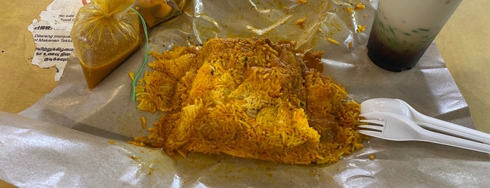 Allauddin's Briyani is one of Micheenli Guide: Best of Singapore Hawker Food.