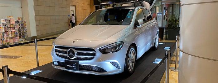 Mercedes me Tokyo HANEDA is one of Posti che sono piaciuti a Hideo.