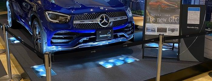 Mercedes me Tokyo HANEDA is one of Lugares favoritos de Hideo.