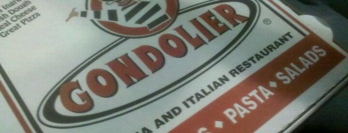 Gondolier Italian Restaurant & Pizza is one of Loukas 님이 좋아한 장소.