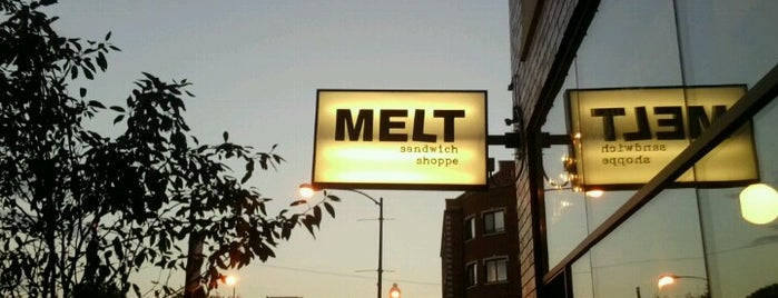 Melt Sandwich Shoppe is one of Chicago City Guide.