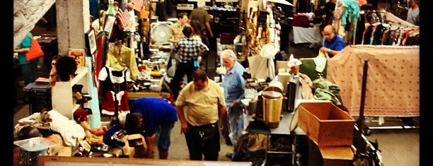 The Garage Antique Flea Market is one of want to visit.