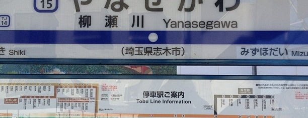 Yanasegawa Station (TJ15) is one of Locais curtidos por Tomato.