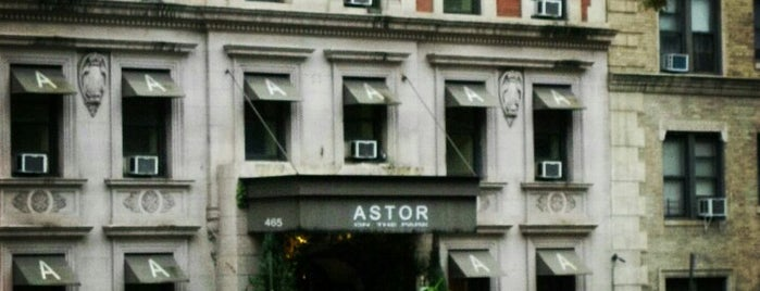 Astor On The Park is one of NY.