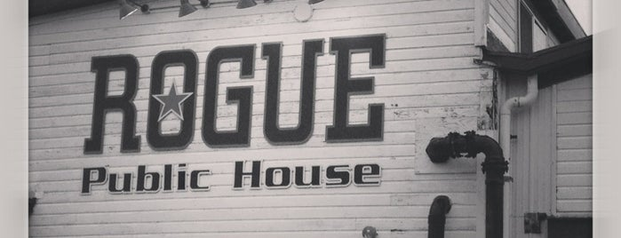 Rogue Ales Public House is one of Oregon - The Beaver State (1/2).